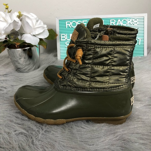 Sperry Shoes | Sperry Duck Boot Army